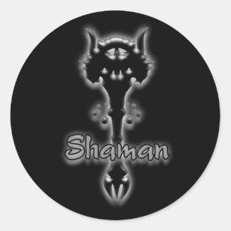 Shaman stave stickers