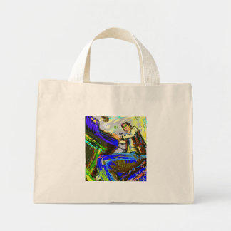 Shaman the Star Mini Tote Bag