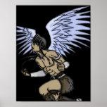 Shaman Warrior Angel Print