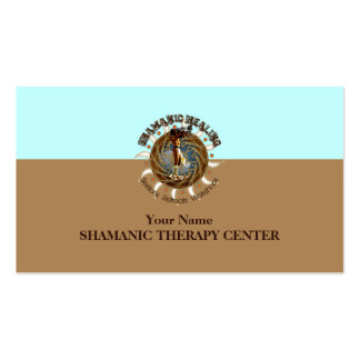 SHAMANIC HEALING - Business Card