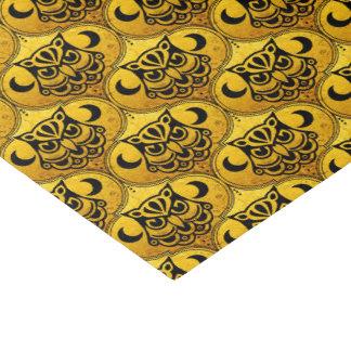 "Shamanic Night Owl Mosaic Pattern + your idea 10"" X 15"" Tissue Paper"
