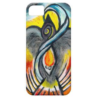 Shamanic Raven Fire iPhone SE/5/5s Case