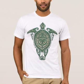 Shamanic Sea Turtle Symbol + your ideas T-Shirt