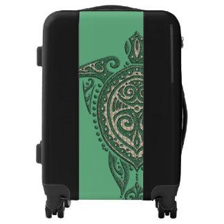 Shamanic Sea Turtle + your backgr. & ideas Luggage