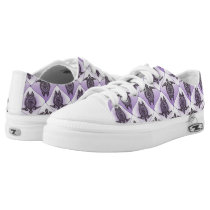 Shamanic Sea Turtles Pattern - violet   your idea Low-Top Sneakers