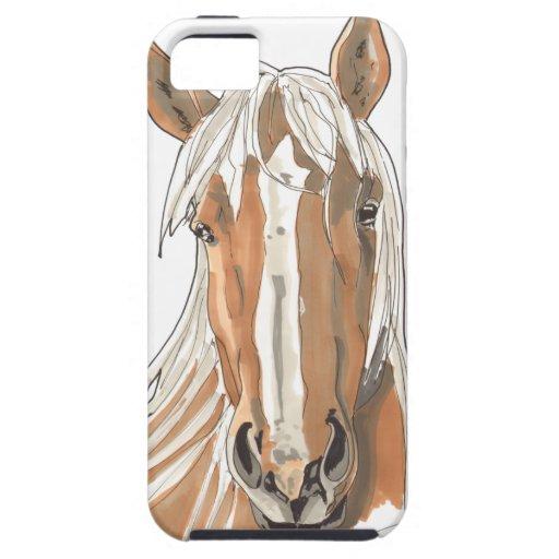 Shamanic Spirit of Horse iPhone 5 Case