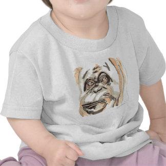 Shamanic Spirit of Orangutan Tee Shirts