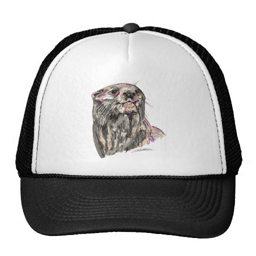 Shamanic Spirit of Otter Hat