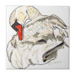 Shamanic Spirit of Swan Tile