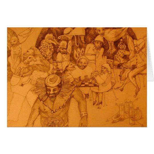 Shaman's Feast Card
