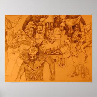 Shaman's Feast Poster