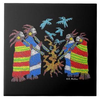 Shamans Fire Tile