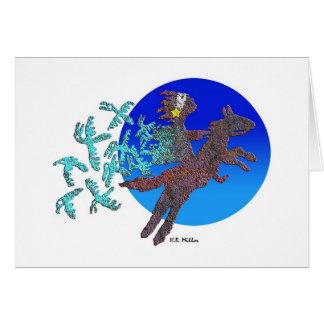 Shamans Quest Greeting Card
