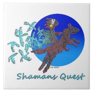 Shamans Quest Large Square Tile