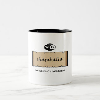 Shamballa Wifi Two-Tone Coffee Mug