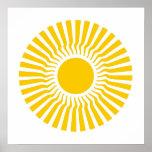 Shambhala gran Sun del este Poster
