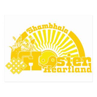 Shambhala Hoosier Heartland Postcard
