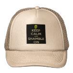 Shamble On Zombie Trucker Hat