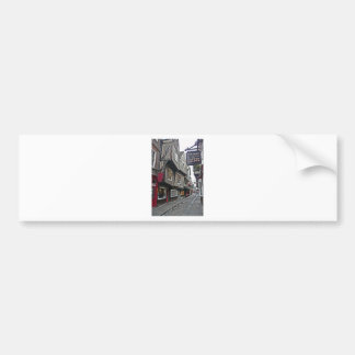 Shambles Street of York Bumper Sticker