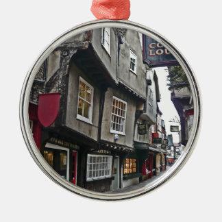 Shambles Street of York Metal Ornament