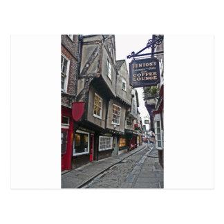 Shambles Street of York Postcard