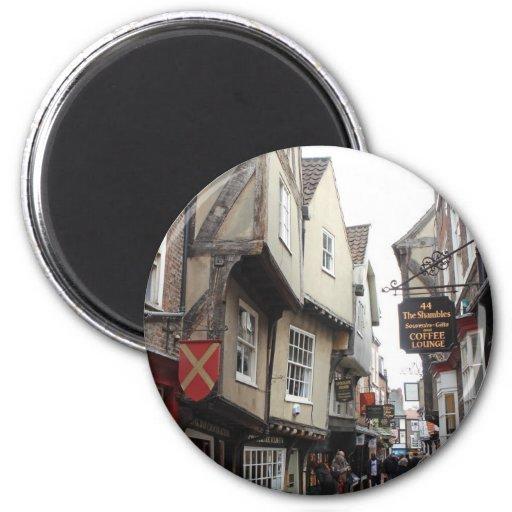 Shambles, York 2 Inch Round Magnet