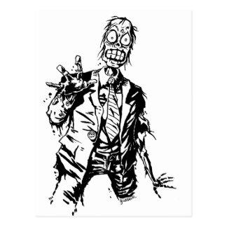 Shambling Zombie Post CardS