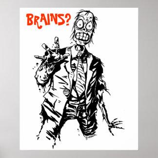 Shambling Zombie Poster