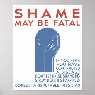 Shame May Be Fatal -- WPA Poster