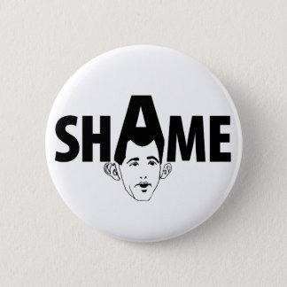 Shame on You Scott Walker! Button