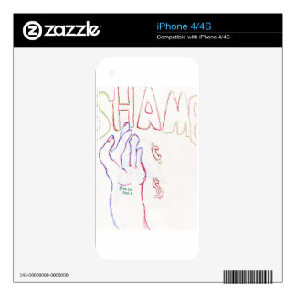 Shame Skins For iPhone 4S