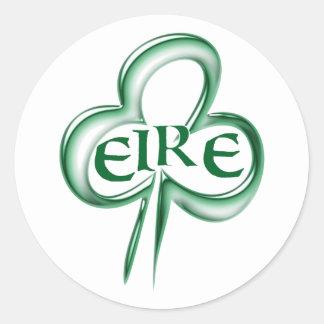 Shame skirt Ireland Irish country Eire Classic Round Sticker