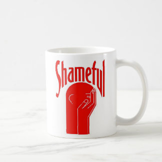 Shameful Large Graphic Shirt Coffee Mug