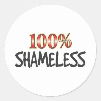 Shameless 100 Percent Stickers
