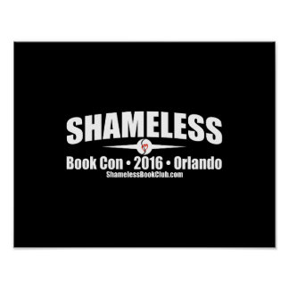 Shameless Book Con 2016 Signing Poster