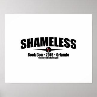 Shameless Book Con 2016 Signing Poster (White)