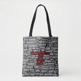 Shameless Book Con 2017 Word Cloud Tote Bag