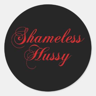 Shameless Hussy Sticker