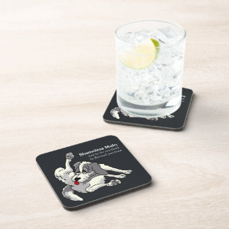 Shameless Male Beverage Coasters