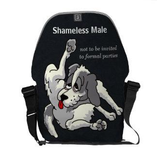 Shameless Male Courier Bag