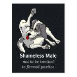 Shameless Male Post Card