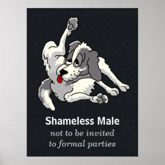 Shameless Male Print