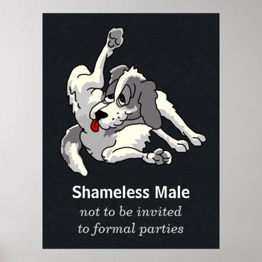 Shameless Male Poster