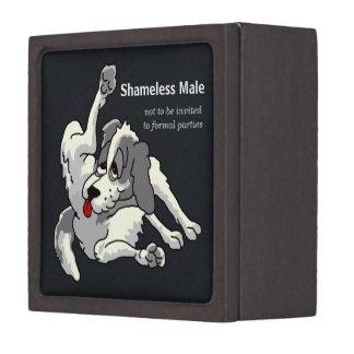 Shameless Male Premium Keepsake Box