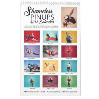 Shameless Pinups: 2018 Calendar