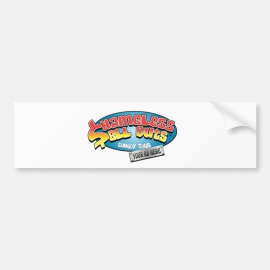 Shameless Sellouts Official Merch Bumper Sticker
