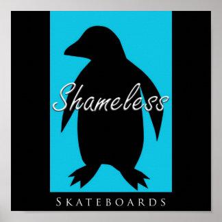 Shameless Skateboards Poster