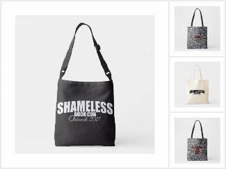Shameless Tote Bags