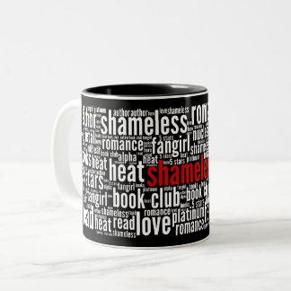 Shameless Word Cloud Black Mug (C)