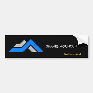 Shames mountain car bumper sticker
